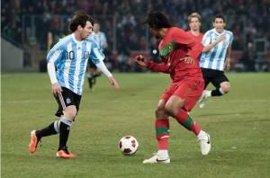 В матче со сборной Партугалии