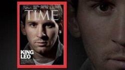 Лионель Месси на обложке журнала «Time»