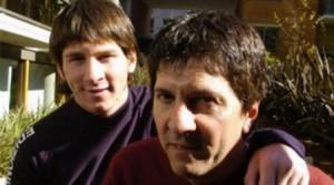 Месси с отцом